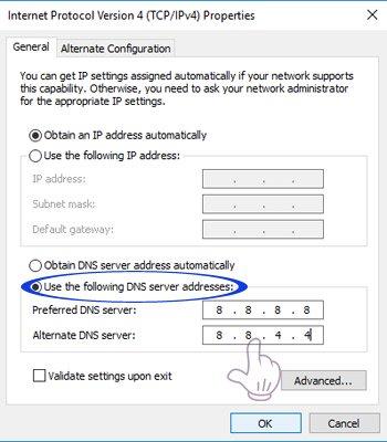 mã DNS mới