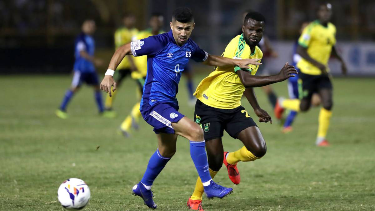 El Salvador vs Jamaica