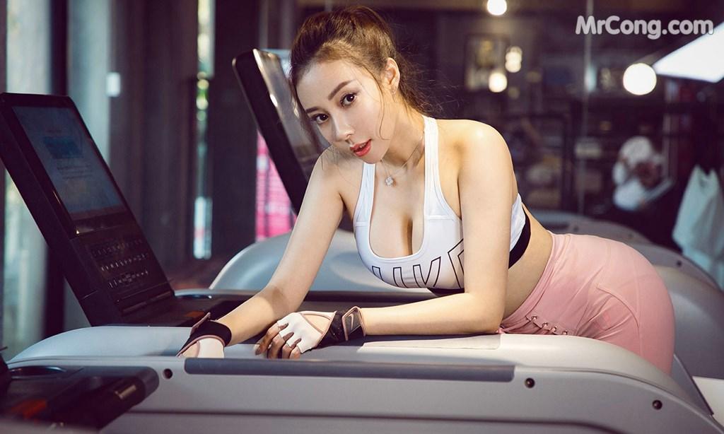 Gái xinh tập Gym, và ... lột đồ tự sướng đầy nhạy cảm (50 ảnh)