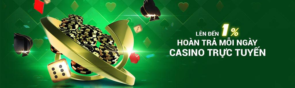 Nhà cái tặng tiền cược Casino cao nhất