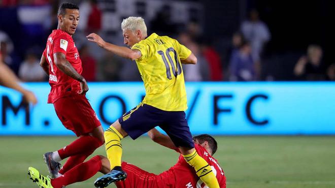Arsenal vs Lyon