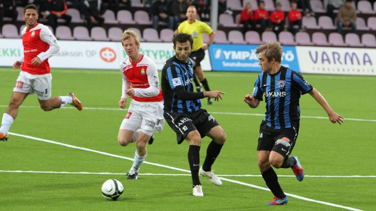Inter Turku vs Lahti