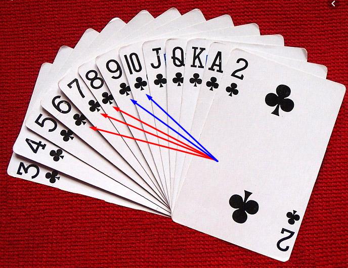 Cách chơi phỏmdây 6 - 7 - 8 Trép