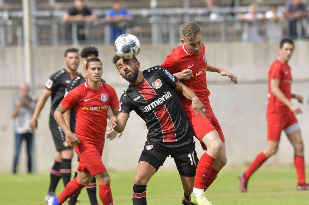 Alemannia Aachen vs Leverkusen