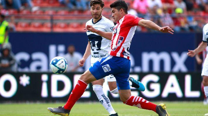 Atletico de San Luis vs Monarcas Morelia