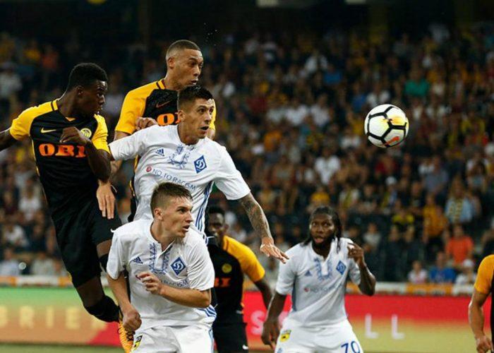 Dynamo Kyiv vs Club Brugge