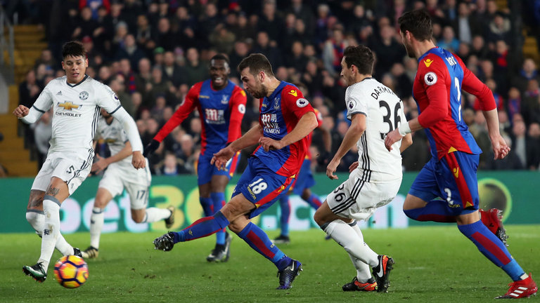Man Utd vs Crystal Palace