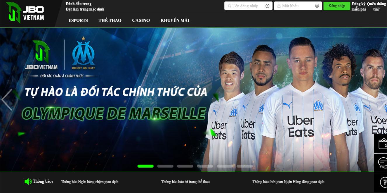 Nhà cái JBO Việt Nam - Cá cược thể thao, Cược Esports, Dota, FIFA cực đỉnh