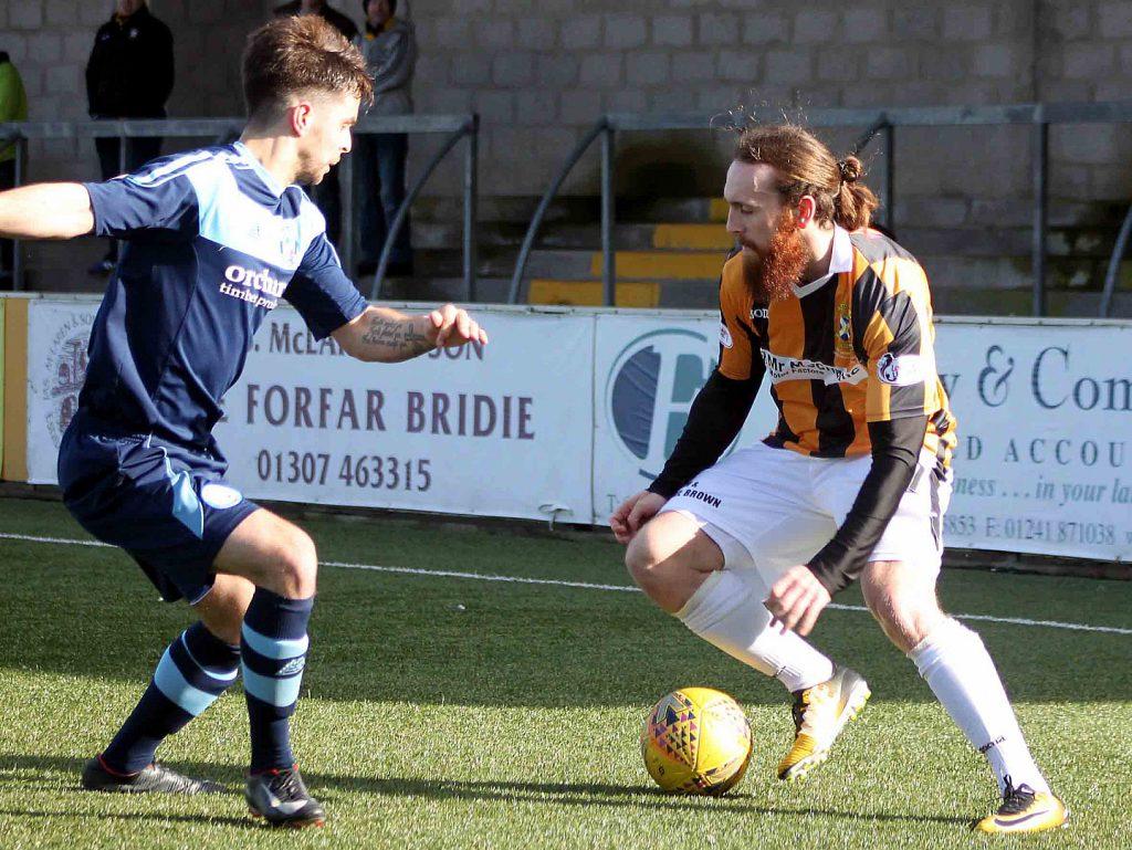 Forfar Athletic vs East Fife