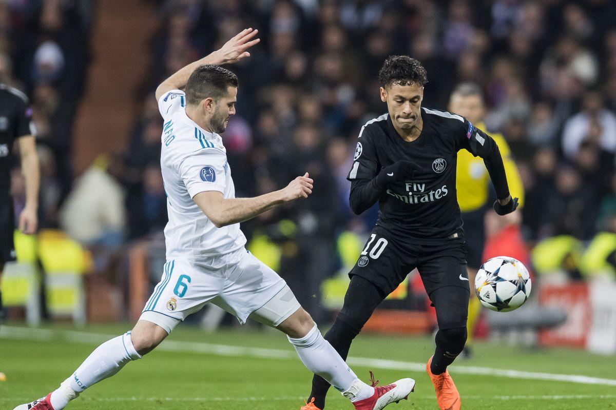 Paris Saint-Germain vs Real Madrid