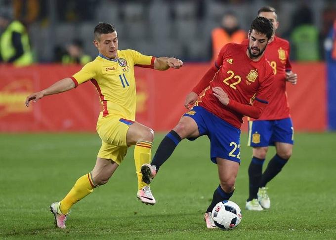 Romania vs Tây Ban Nha