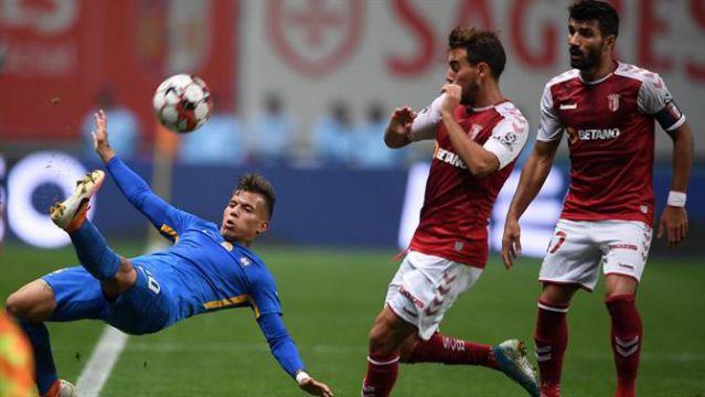 Braga vs Slovan